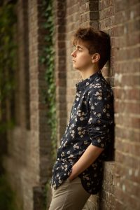 photographing moody teenagers