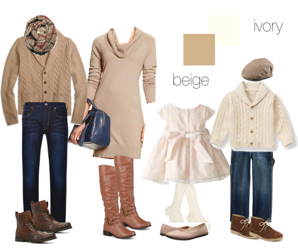 beige and ivory clothing suggestions
