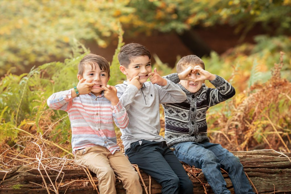 how to get kids to behave on a photo shoot